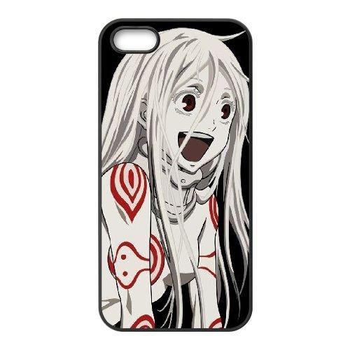 Deadman Wonderland coque iPhone 5 5S Housse téléphone Noir de couverture de cas coque EBDXJKNBO12453