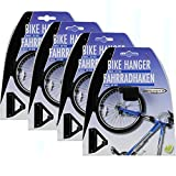 4x Fahrradhalter Wand Fahrradaufhängung Easy Fahrradständer Fahrrad