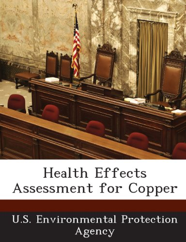 Health Effects Assessment for Copper