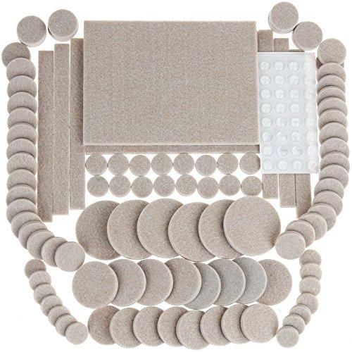 132 pieces anpro premium furniture pads 100 heavy duty self stick