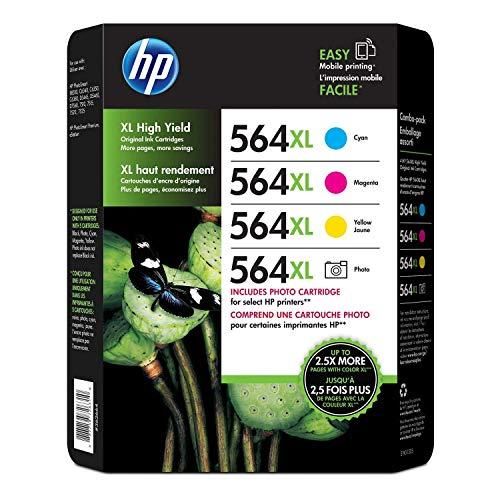 D8J62BN HP 564 4er-Pack (mit Foto-Schwarz)