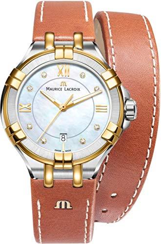 Maurice Lacroix AIKON AI1004-PVY11-171-1 Montre Bracelet pour femmes Fabriqué en Suisse