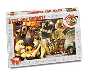 Wallace & Gromit - Atta Boy Gromit! - A Matter Of Loaf And Death (500 piece Rectangular)