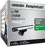 Rameder Komplettsatz, Dachträger SlideBar für VW Sharan (115018-01312-10)