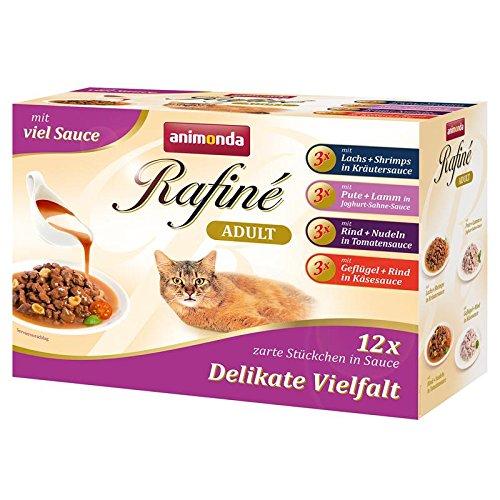Animonda Rafine Soupe im Multipack | 48x 100g Katzenfutter