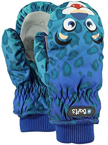 Barts Unisex Baby Handschuhe Nylon Mitts, Blau (Leopard Blu 42), One size