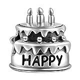 Soufeel Gateau d'anniversaire Perle en Argent Sterling 925 Compatible Européen Bracelet pour Charms Colliers Bracelets