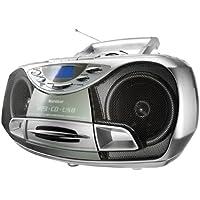 Karcher CD Radio RR 510N - Boombox (mit CD Player, UKW Radio, Kassettenspieler, MP3 Player über CD oder USB)