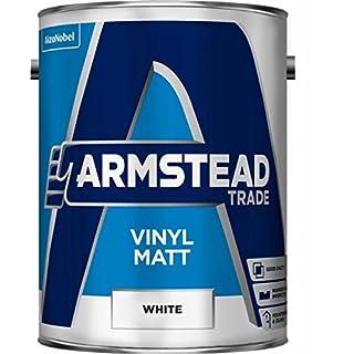 Armstead Trade Vinyl Matt White 5 Litres