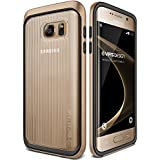Coque Galaxy S7 Edge, VRS Design [Triple Mixx][Or] - [Housse de Protection][Slim Case][Transparent Etui][Anti Chocs Case][Military Grade Protection] Pour Samsung Galaxy S7 Edge