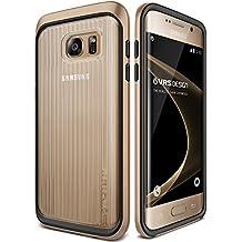 "VRS diseño ""Triple MIXX–Carcasa fina para Samsung Galaxy S7Edge–Rose gold-parent, plástico, Shine Gold, Galaxy S7 Edge"