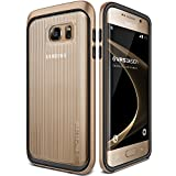 VRS Design Triple Mixx Slim Fit Case für Samsung Galaxy S7 Edge – Rose gold-parent, plastik, Shine Gold, Galaxy S7 Edge