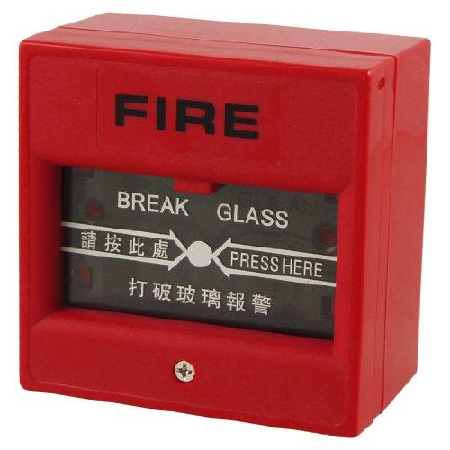 Sourcingmap a12062100ux0125 - Rosso pulsante quadrato di emergenza allarme apriporta pausa veloce