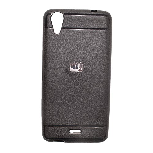 Iway Leather Finish Soft Back Cover for Micromax Canvas Selfie Lens Q345 - Black  available at amazon for Rs.109