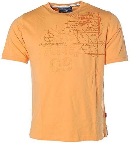 Signum Herren T-Shirt - ARQ- Orange