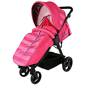 iSAFE Sail Stroller - 7 Colours! (Pink)   11