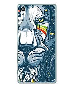 99Sublimation Designer Back Case Cover for Sony Xperia Z3+ :: Sony Xperia Z3 Plus :: Sony Xperia Z3+ dual :: Sony Xperia Z3 Plus E6533 E6553 :: Sony Xperia Z4 (drawing sketch art yellow eyes tear )