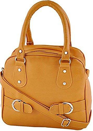 TipTop Women's Leather Handbags (Mustard)
