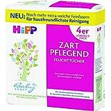 Hipp Babysanft Feuchttücher zart pflegend, weiß, 4x56 Tücher