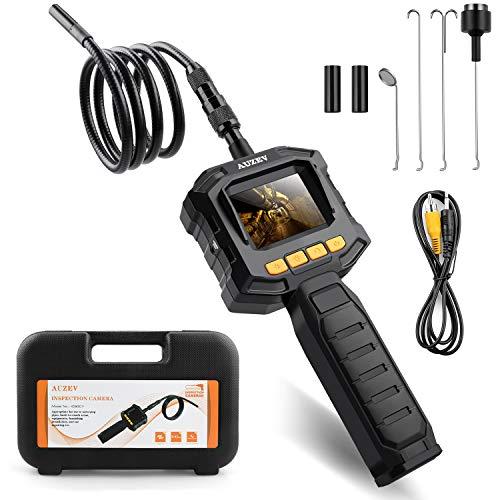 Auzev Endoscope 2.31 Pouces Moniteur 1m,endoscopique Flexible pour caméras d'inspection numériques...