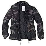 Trooper M65 Feldjacke, blackcamo, Size 3XL