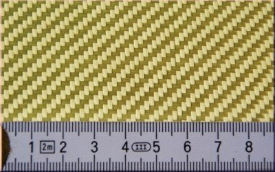Aramidgewebe 170g Breite 100cm -