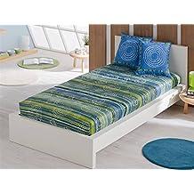 LaNovenaNube - Edredón Ajustable ENZO cama 80/90 - Color Fucsia