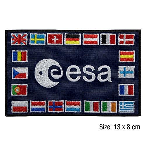 Patch, Aufnäher bestickt Bügelbild ,, Esa European Space Agency NASA V1 ,,
