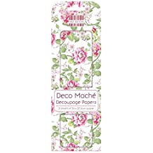 First Edition Deco Mache-Carta FSC, motivo giardino in fiore, in carta, multicolore