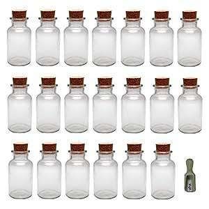 Viva Haushaltswaren Lot de 8x pots à épices/boîtes, 300 ml