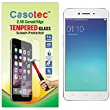 Casotec 2.5D Curved Edge Tempered Glass Screen Protector for Oppo A37