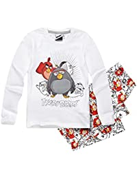 Angry Birds Garçon Pyjama 2016 Collection - blanc