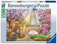 Idea Regalo - Ravensburger Puzzle - Amore a Parigi, 16000 6