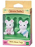 Sylvanian Families - 5077 - Poupée et Mini-Poupée - Bébés Jumeaux Souris