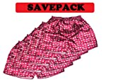 (L) Savepack Boxers Boxer Boxershort Shorts *** 5 PIECES *** Underwear Elephant Men Woman Girl Boy red