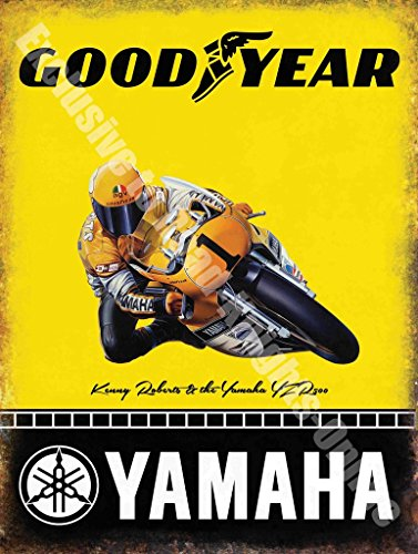 yamaha-goodyear-moto-de-course-kenny-roberts-metal-panneau-mural-metalique-20-x-30-cm