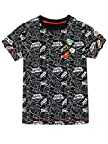 DC Comics Jungen Justice League T-Shirt Schwarz 146