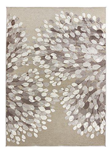 vallila-140-x-200-cm-100-percent-acrylic-chenille-sydanpuu-hearts-rug-grey-white