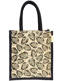 H&B Jute Unisex Multicolour Tote Bag
