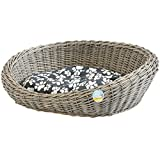 Me & My Pets Wicker Basket Bed
