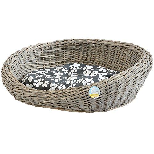 Me & My Pets Wicker Basket Bed