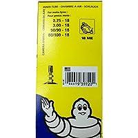 Michelin s18300 - Camara de aire, 18 ME Valve TR4 (2.75-18, 3.00-18, 80/100-18 y 90/90-18)