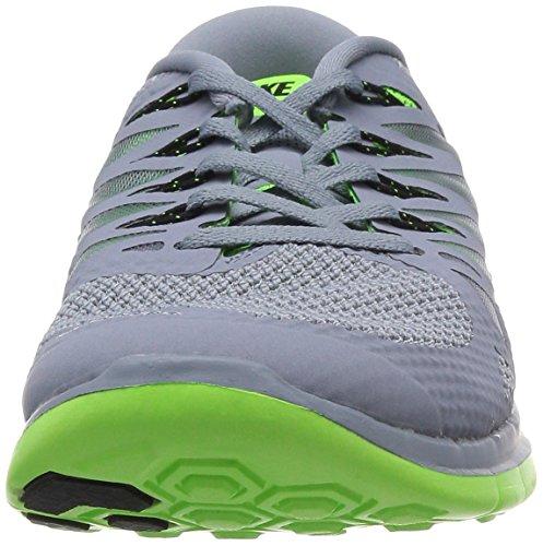 Nike Free 5.0 642198 Unisex Laufschuhe Grigio (Grau/Grün)