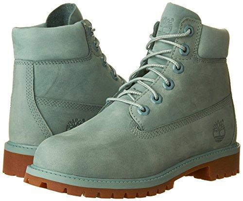 Timberland Unisex Adults  6  in Premium Wp Kq4 Classic Boots  Blue  Stone Blue   6 UK 39 EU