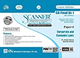 Scanner CA Final (New Syllabus) Gr. I Paper - 4 Corporate and Economic Laws (Edition January 2020)
