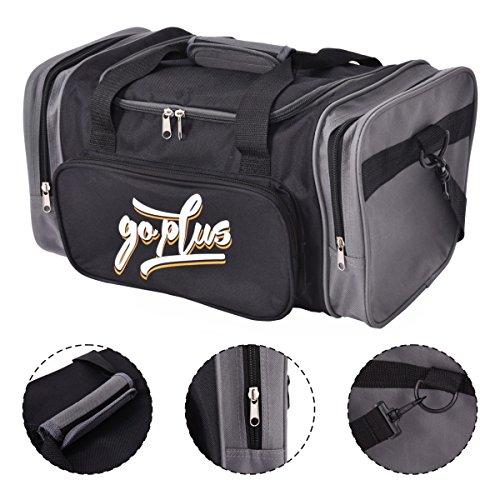 Goplus Sporttasche Trainingstasche Reisetasche Fitnesstasche Sportbag Duffle S/M/L (S)
