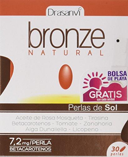 Drasanvi Bronze Natural Sun Pearls - 30 Capsules