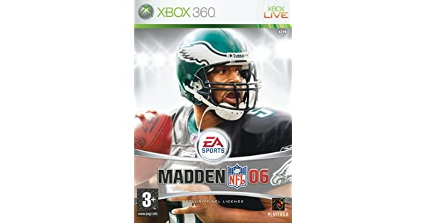 Madden NFL 06 (Xbox 360)  Amazon.co.uk  PC   Video Games 5a6354468cb3b