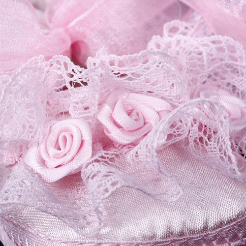 ashcbus , Baby Mädchen Lauflernschuhe Rose