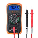 Neoteck Multimetro Digitale / Mini Multimetro Tester Misuratore Digitale Manual Range Test DMM DC...
